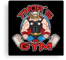 Thor's Gym Canvas Print