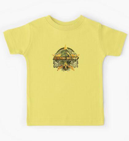 gay army t shirt Kids Tee