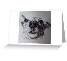 My Dotty Dog Greeting Card