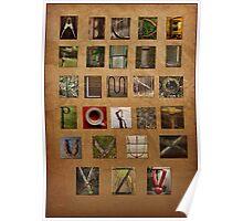 Alphabet Again Poster