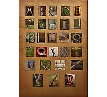 Alphabet Again Photographic Print