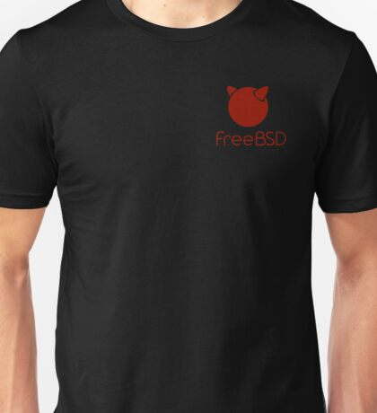 FreeBsd - Simple Unisex T-Shirt