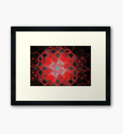 Gnarls Tiles Framed Print