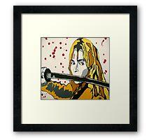 Beatrix Kiddo Framed Print