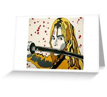 Beatrix Kiddo Greeting Card