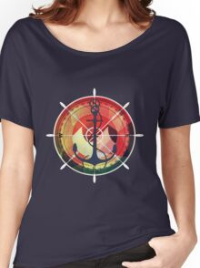 Captains sea anchor maritime sailor  Women's Relaxed Fit T-Shirt