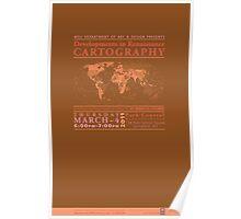 Renaissance Cartography Poster 2 Poster
