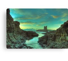 Cathedral Rocks at Dawn Canvas Print