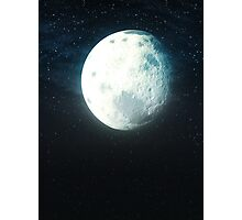 Stylized Moon in the Sky 2 Photographic Print
