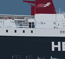 Hellenic Seaways Ship by TomDesigns