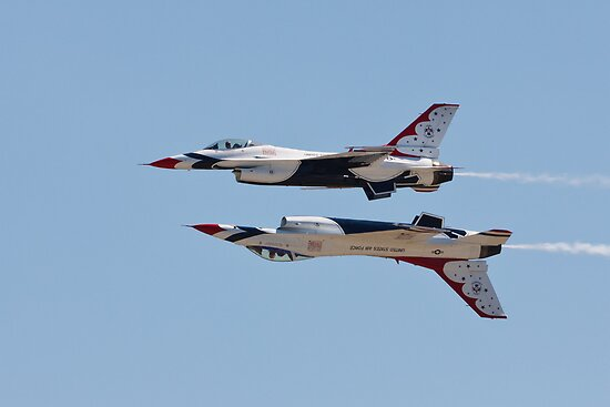 The Air Force Thunderbirds by Joe Elliott