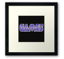 games Framed Print
