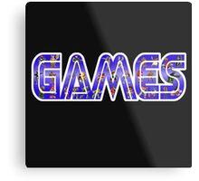 games Metal Print