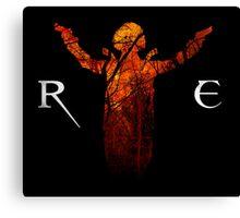 Resident Evil - Alice Abernathy Canvas Print