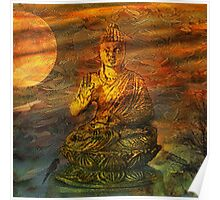 Buddha Dusk Poster