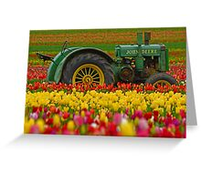 Nothing Runs Like A Deere Greeting Card