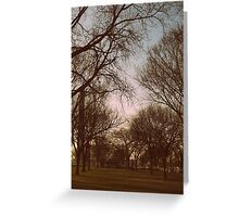 Washington Park   Greeting Card