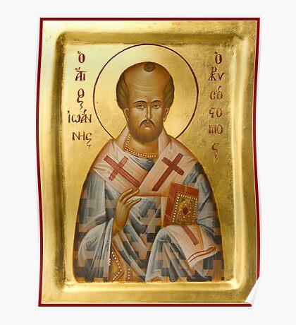 St John Chrysostom Poster