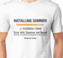 Installing Summer - Europe Unisex T-Shirt