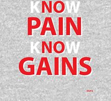 WAFA Know Pain Know Gains Tank in Gray Tank Top