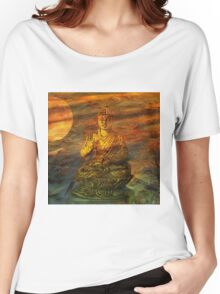 Buddha Dusk Women's Relaxed Fit T-Shirt