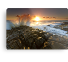 The Sea Is Mighty Metal Print