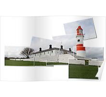 Just Souter Lighthouse Poster