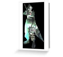 Final Fantasy VII - Cloud and Midgar Greeting Card