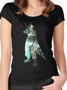 Final Fantasy VII - Cloud and Midgar Women's Fitted Scoop T-Shirt