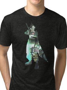 Final Fantasy VII - Cloud and Midgar Tri-blend T-Shirt