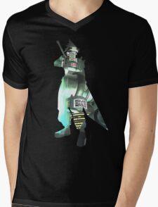 Final Fantasy VII - Cloud and Midgar Mens V-Neck T-Shirt