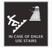Dalek vs Stairs by Jason Langer