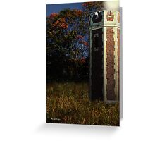 The Tower in the Woods Greeting Card