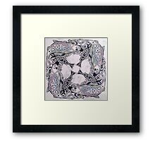 Celtic Fish Framed Print