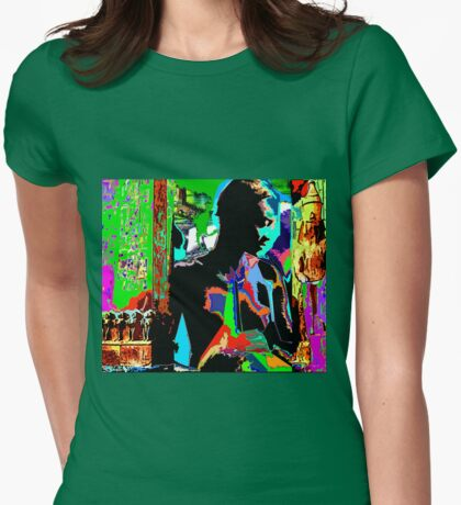 SHE - An African Allegory Womens Fitted T-Shirt