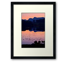 Loughrigg Tarn, The Lake District Framed Print
