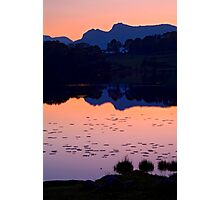 Loughrigg Tarn, The Lake District Photographic Print
