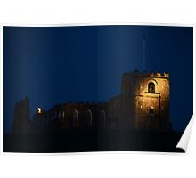 Whitby Abbey - Lighting Poster