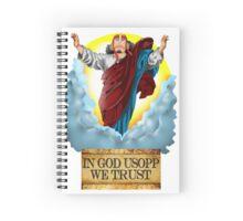 In god Usopp we trust Spiral Notebook