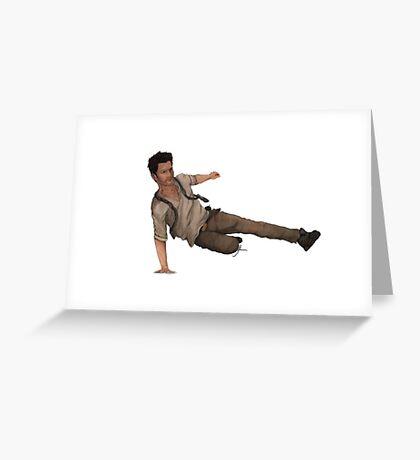 Nathan Drake - Uncharted  Greeting Card
