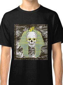 Skull Pharaoh, Day of The Dead, Vintage Vector illustration Classic T-Shirt