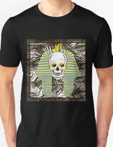 Skull Pharaoh, Day of The Dead, Vintage Vector illustration T-Shirt