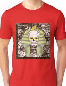 Skull Pharaoh, Day of The Dead, Vintage Vector illustration Unisex T-Shirt