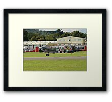 Spitfire Mark 1XB fighter Framed Print