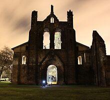Kirkstall Abbey by asainter
