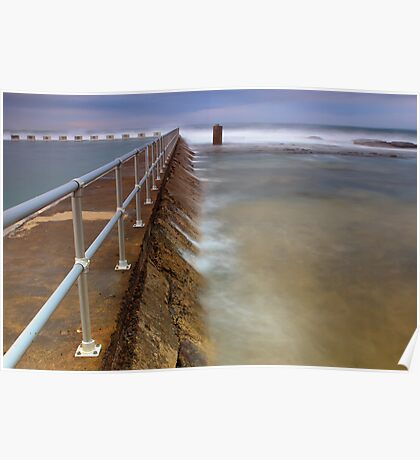 Merewether Ocean Baths - The Overflow Poster