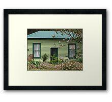 Green Cottage Framed Print