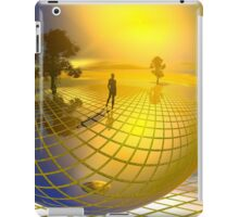 Surreal landscape with trees iPad Case/Skin