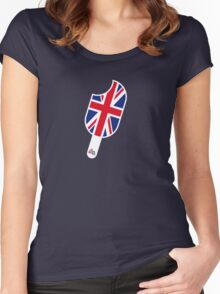 SoFresh Design - God Save The Queen Women's Fitted Scoop T-Shirt