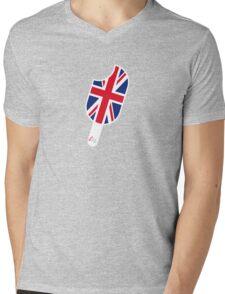 SoFresh Design - God Save The Queen Mens V-Neck T-Shirt